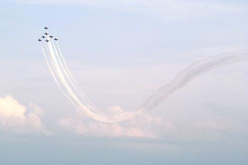 plane air show valencia-14
