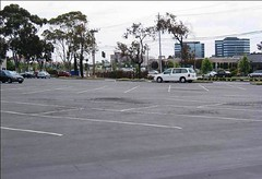 previous parking lot (by: San Mateo Co. Transit District)