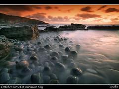 October sunset at Dunraven Bay (opobs) Tags: sky beach water southwales wales seaside sand bcc wfc valeofglamorgan bridgend rockpool southerndown dunravenbay glamorganheritagecoast welshflickrcymru opobs bridgenddistrictcameraclub michaeljstokesawpf