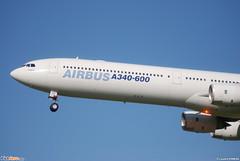 "Airbus A340-600 Airbus Industries (AIB) ""House colors"" F-WWCA - MSN 360 (Luccio.errera) Tags: aib 360 airbus msn industries a340600 housecolors fwwca"