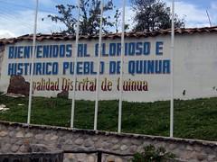 glorioso e historico pueblo de quinua