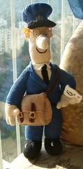 Easy Knitted Headband Free Pattern : Ravelry: Postman Pat pattern by Alan Dart