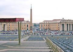 Rome 341 (Xeraphin) Tags: italy vatican stpeters rome church basilica peters saintpeters basilicadisanpietroinvaticano peterssquare piazzadisanpietropiazzadisanpietro