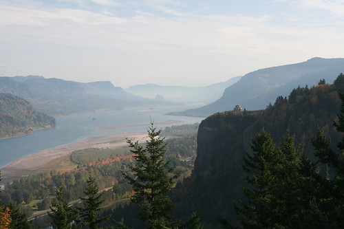 the Columbia River valley