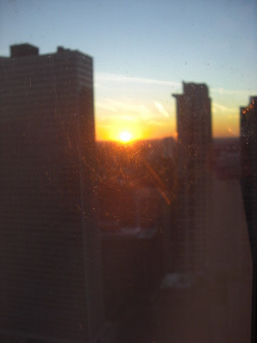 Chicago Sunset October 2008