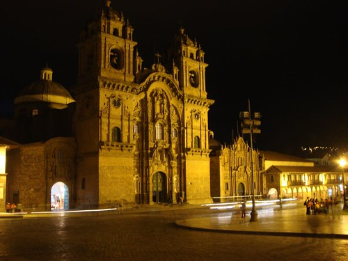 Cusco by night...
