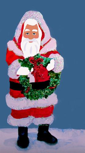 Santa-Glitter
