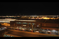 Airport (Adam Metcalf [Transcendent Productions]) Tags: las vegas paris adam tower water fountain lights hotel bay video airport time nevada airplanes eiffel casino entertainment metcalf belagio luxor mgm tropicana mandalay lapse mccarran