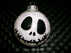 i made this last weekend (nopantsboy) Tags: xmas homemade ornaments jackskellington