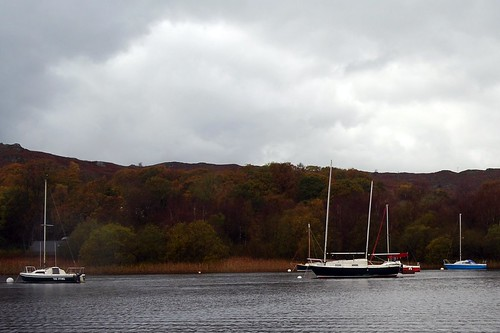 Boats on Coniston