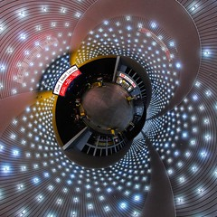 Planet Wash (eldejo) Tags: germany bayern deutschland bavaria nuremberg gasstation carwash projection planet nuernberg tankstelle stereographic mrwash littleplanet