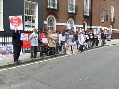 S7301407 (FREE BURMA2008) Tags: london for embassy demonstration jail years leaders 88 receive burmese generation 65 terms