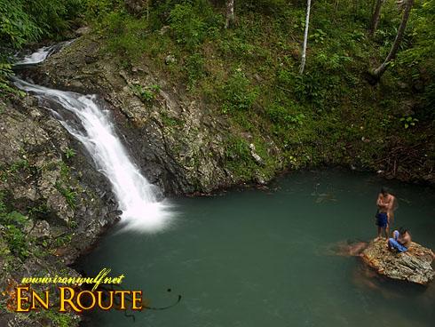 Kawa-kawa Falls Basin