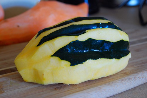 Peeled squash