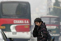 Lima the Latin American capital with worst air pollution