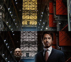 Iron Man, before and after