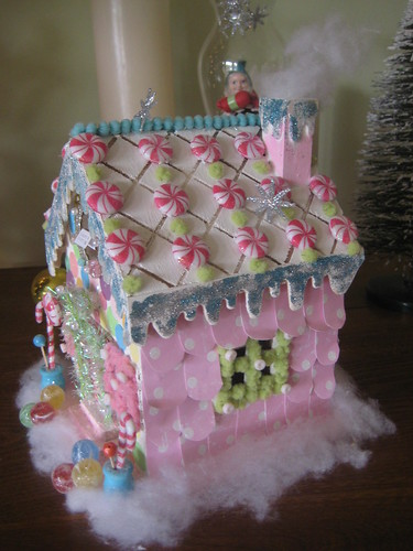 The candy man's gingerbread house by tiedupmemories.