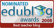 2008 Edublogs Nomination