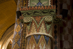 2009-03-12 Civray, église de Saint-Nicolas, Vienne, Poitou Charentes (ellapronkraft.) Tags: france middleages vienne moyenage civray poitoucharentes artroman artromanesque églisesaintnicolas