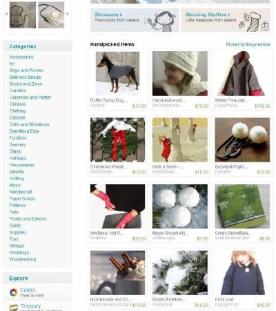 4blog Etsy Front Page 12.03.08