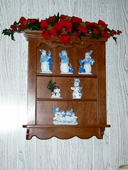 Mom's Knick Knack Shelf Finally at Home