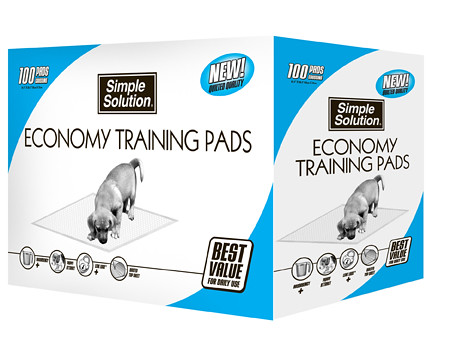 Simple Solution® Puppy Training Pads or Stay at Home™ Floor Protection Pads