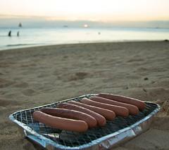 Waikiki Beach Weinie Roast
