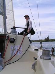 Sailing on the tweed (harrismint) Tags: jane whanau fingal australia09