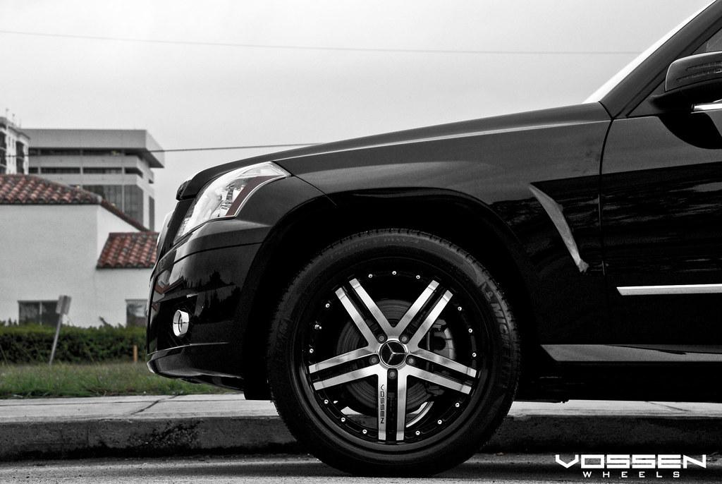 New 2010 Mercedes Benz Glk On Vossen Vvs 078 With Black