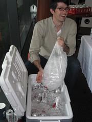 Molson's New Media Reception (Erica Hargreave) Tags: ice beer vancouver newmedia canadian cooler molsons icecold socialmedia telefilm bridgingmedia bcfilm wiff09