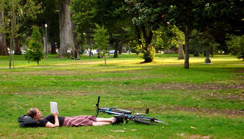 panhandle siesta con bici
