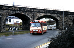 WFS 138W under the arches (no low floors) Tags: fife leopard