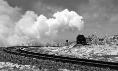 Climbing to the Summit (Gerry Balding) Tags: mountain train germany track smoke engine railway steam rails summit brocken locomotive narrowgauge brockenbahn hsb harzmountains harzerschmalspurbahnen thebestofday gnneniyisi narrow