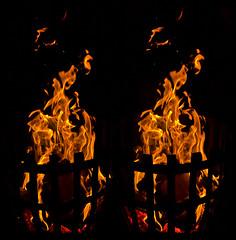 Bonfire :: Stereoscopic Cross Eye 3D :: (Stereotron) Tags: 3d 3dphoto 3dstereo 3rddimension spatial stereo stereo3d stereophoto stereophotography stereoscopic stereoscopy stereotron threedimensional stereoview stereophotomaker stereophotograph 3dpicture 3dglasses 3dimage crosseye crosseyed crossview xview cross eye squint squinting freeview quietearth europe germany saxony fire crackling flame flames wood wellseasoned firewood bonfire campfire blaze amber fervency fervor fervour glim glow flummery burn twin canon eos 550d yongnuo radio transmitter remote control tonemapping hdr hdri raw cr2 1855mm kitlens sidebyside sbs kreuzblick 100v10f