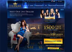 Europalace Casino Home