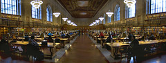 For all who love reading and learning (cbonney) Tags: new york panorama public reading library room main ave 5th