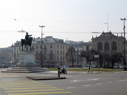 Geneva's Place Neuve