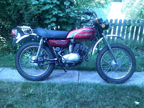 intros and 1974 g4tr trail boss 100 - Kawasaki Motorcycle Forums