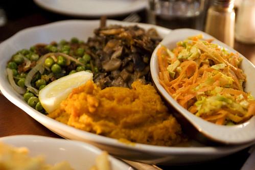 four market veg dishes