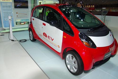 Электрокар от Mitsubishi женева 2008