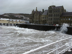 Aberystwyth Prom (aberystwyth-online) Tags: uk sea storm west film water weather wales photography photo waves picture wave stormy pic aberystwyth prom waters rough seafront ceredigion seas aber httpwwwaberystwythonlinecouk
