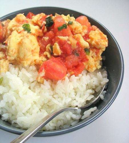 Tomatoes and Egg Stir Fry