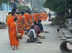 Early morning in Luang Prabang - Click to see more photos