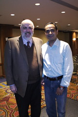 Avinash Kaushik and Greg Jarboe at SES NY 2008