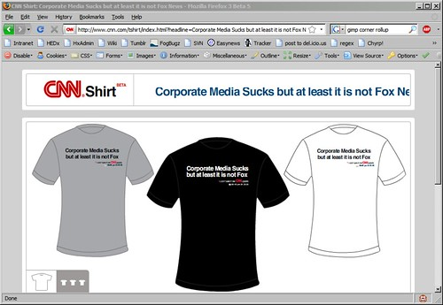 Create Your Own CNN T-Shirt!