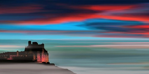 Edinburgh Castle (by blue fin art)