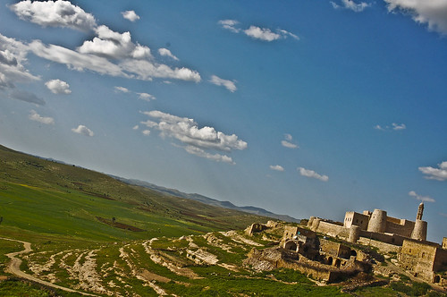 View over the Assyrian/Syriac village Enwerdo