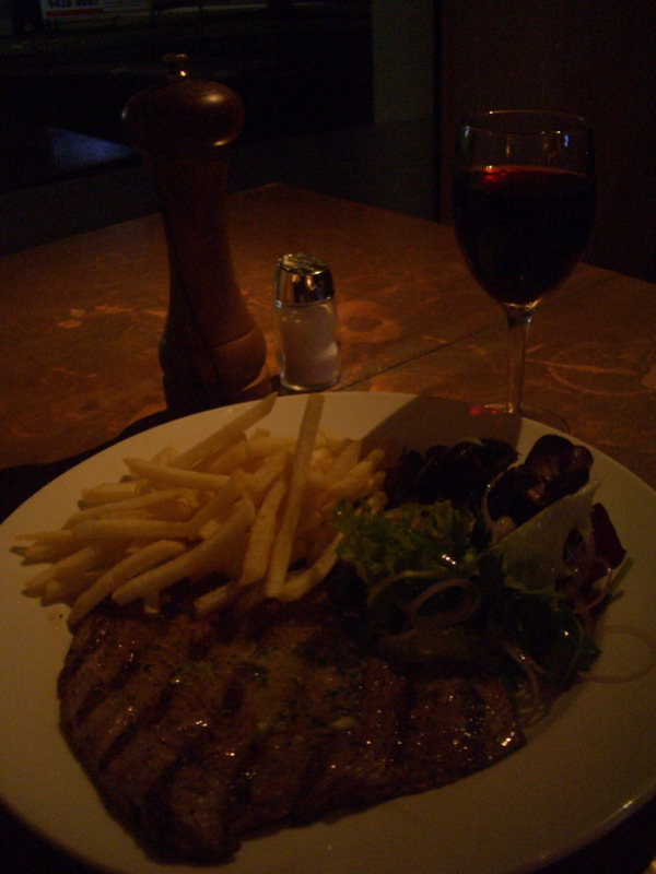 Cherry Tree minute steak