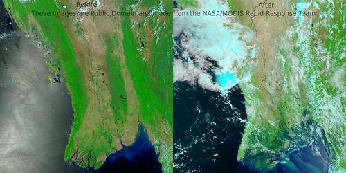 Cyclone Burma (Myanmar)