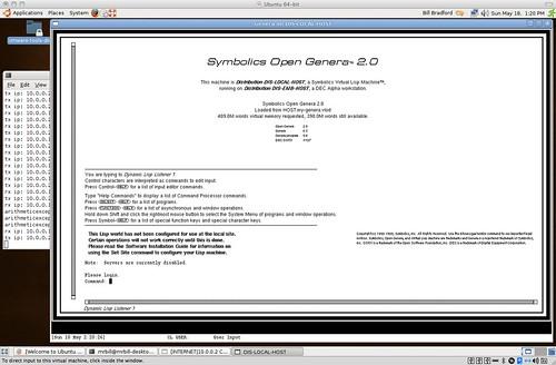 Symbolics OpenGenera